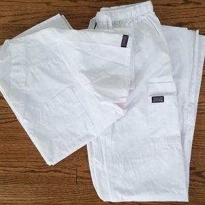 Cherokee Scrubs Set - White